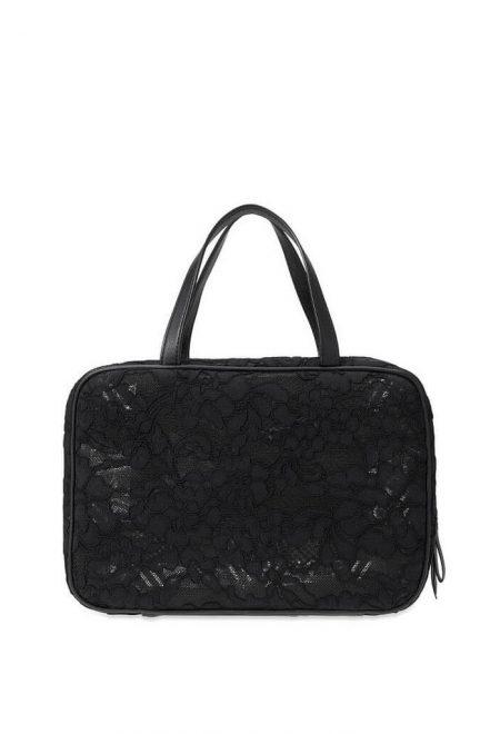 Dorozhnaia kosmetichka Victoria's Secret blacke lace2