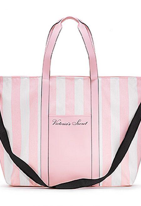 Dorozhnaia sumka Victoria's Secret rozovaia poloska