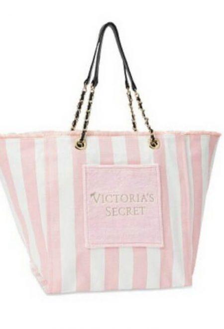Sumka Victoria's Secret Angel City Tote rozovaia poloska