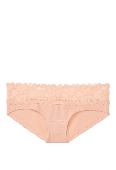 Trusiki bikini serii Cotton bezhevie