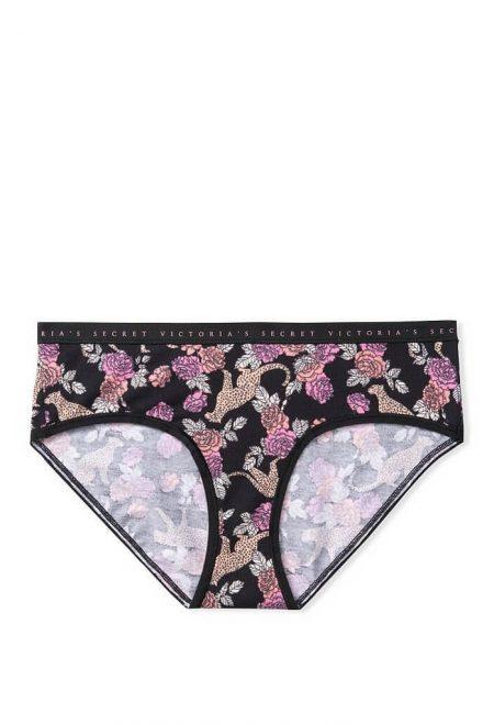Trusiki bikini serii Cotton chernie tigri